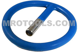 APEX 10015S 2 1/8'' Plastic Ret-Ring Socket Retaining Ring With Steel Insert