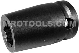 10MM13 Apex 10mm Metric Standard Socket, 3/8'' Square Drive