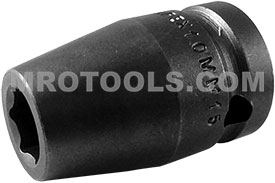 10MM15 Apex 10mm Metric Standard Socket, 1/2'' Square Drive
