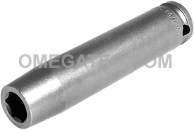 10MM33 Apex 10mm Metric Extra Long Socket, 3/8'' Square Drive