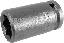 1111 Apex 11/32'' Standard Socket, 1/4'' Square Drive