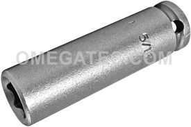1210 Apex 5/16'' Long Socket, 1/4'' Square Drive