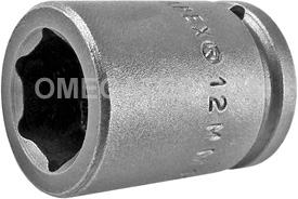 12MM11 Apex 12mm Metric Standard Socket, 1/4'' Square Drive