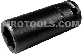 13MM23 Apex 13mm Metric Long Socket, 3/8'' Square Drive