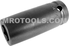 13MM25 Apex 13mm Metric Long Socket, 1/2'' Square Drive