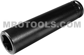 APEX 13MM33 13mm Extra Long Impact Socket, 3/8'' Square Drive