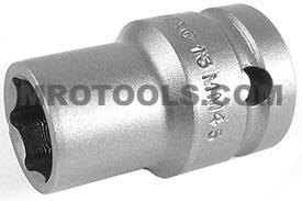 13MM45 Apex 13mm Thin Wall Metric Standard Socket, 1/2'' Square Drive