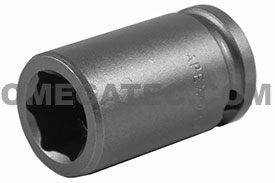 14MM13 Apex 14mm Metric Standard Socket, 3/8'' Square Drive