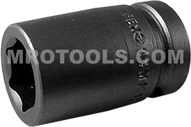 14MM15 Apex 14mm Metric Standard Socket, 1/2'' Square Drive