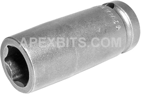 14MM25 Apex 14mm Metric Long Socket, 1/2'' Square Drive