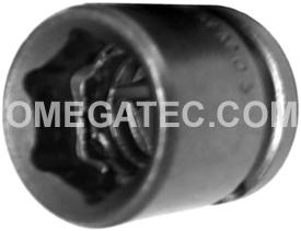 15MM03 Apex 15mm Metric Short Socket, 3/8'' Square Drive