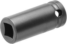 1612 Apex 3/8'' Single Square Nut Standard Socket, 1/4'' Square Drive