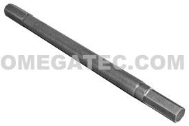 185-4-4X Apex 1/4'' Socket Head (Hex-Allen) Hex Insert Bits, SAE