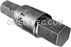 185-7MM 1/4'' Apex Brand Socket Head (Hex-Allen) Insert Bits, Metric