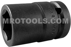APEX 22MM47 22mm Standard Impact Socket, Thin Wall, 3/4'' Square Drive