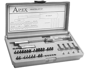 24BITKIT Apex 24 Piece Screwdriver Bit Kit