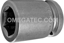 24MM17 Apex 24mm Metric Standard Socket, 3/4'' Square Drive