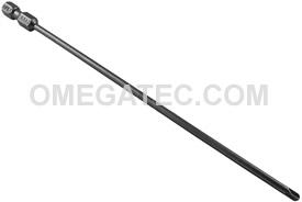 265A-2 1/4'' Apex Brand Torq-Set #2 Power Drive Bits