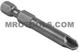 273A-8 1/4'' Apex Brand Torq-Set #8 Power Drive Bits