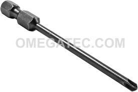 APEX 273B-1 #1 Torq-Set Power Drive Bits, 1/4'' Hex Drive