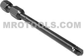 APEX 273B-3 #3 Torq-Set Power Drive Bits, 1/4'' Hex Drive