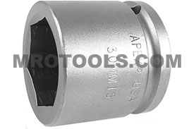 30MM15 Apex 30mm Metric Standard Socket, 1/2'' Square Drive