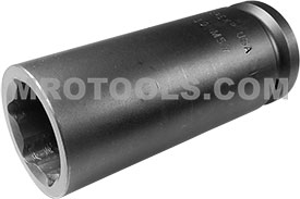 APEX 30MM57 30mm Extra Long Impact Socket, Thin Wall, 3/4'' Square Drive