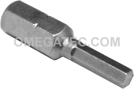 315-3X 5/16'' Apex Brand Socket Head (Hex-Allen) Insert Bits