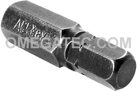 315-8X 5/16'' Apex Brand Socket Head (Hex-Allen) Insert Bits