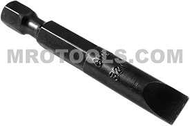 320-4X Apex 1/4'' Slotted Power Drive Bits