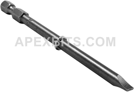 320-LX Apex 1/4'' Slotted Hex Power Drive Bits Only