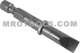322-MX 1/4'' Apex Brand Slotted Power Drive Bits Only, Extra Short Series