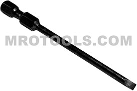 323-00X Apex 1/4'' Slotted Power Drive Bits
