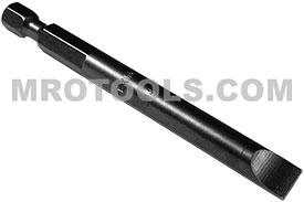 323-4X 1/4'' Apex Brand Slotted Power Drive Bits