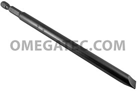 325-6X Apex 1/4'' Slotted Power Drive Bits