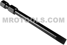 326-1X Apex 1/4'' Slotted Power Drive Bits