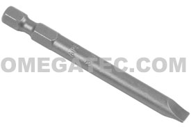 APEX 326-2X Slotted Power Drive Bits, 1/4'' Hex Drive
