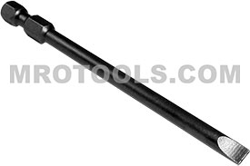 327-1X 1/4'' Apex Brand Slotted Power Drive Bits