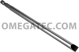 328-5X Apex 1/4'' Slotted Power Drive Bits