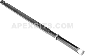 328-MX Apex 1/4'' Slotted Power Drive Bits Only, Long Series