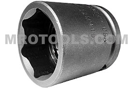 32MM15 Apex 32mm Metric Standard Socket, 1/2'' Square Drive