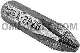 440-2-PZDI Apex 1/4'' Pozidriv #2 Hex Insert Bits