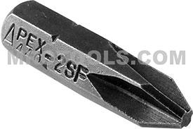 440-3-SFX Apex #3 Sel-O-Fit Insert Bit, 1/4'' Hex Drive