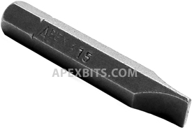 445-3-15X Apex 1/4'' Slotted Hex Insert Bits