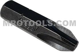 APEX 480-3X #3 Phillips Insert Bits, 5/16'' Hex Drive