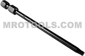 49-B-TX-15-H 1/4'' Apex Brand Torx Power Drive Bits, Tamper Resistant