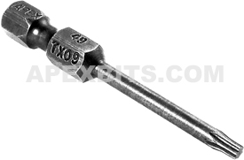 49-TX-09 1/4'' Apex Brand Torx Power Drive Bits