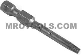 49-TX-15-W 1/4'' Apex Brand Torx Power Drive Bits, Torxalign