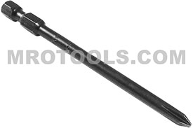 491-BX 1/4'' Apex Brand Phillips Head #1 Power Drive Bits