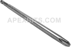 493-C-PZDX 1/4'' Apex Brand Pozidriv #3 Power Drive Bits